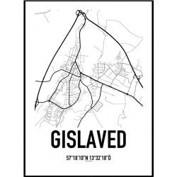 Gislaved Karta