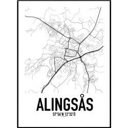 Alingsås Karta