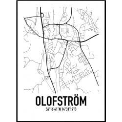 Olofström Karta