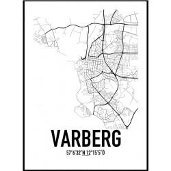 Varberg Karta