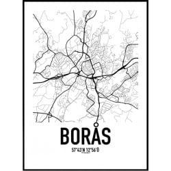 Borås Karta
