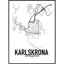 Karlskrona Karta