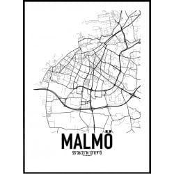 Malmö Karta