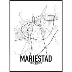 Mariestad Karta