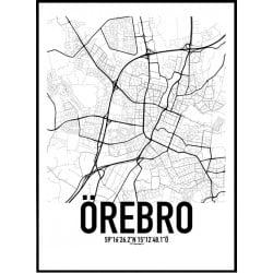 Örebro Karta