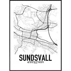 Sundsvall Karta