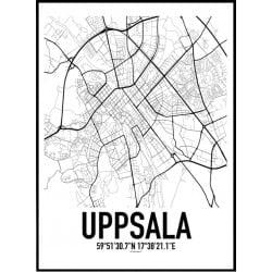 Uppsala Karta