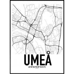 Umeå Karta