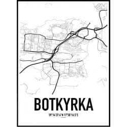 Botkyrka Karta