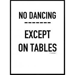 No Dancing Poster