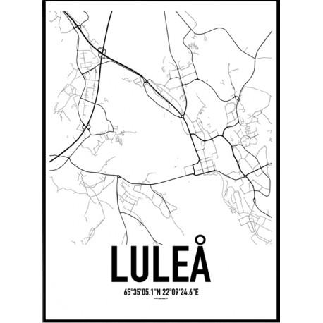 Luleå Karta