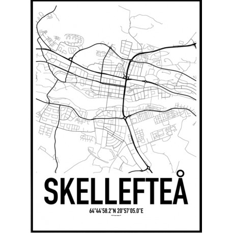 Skellefteå Karta