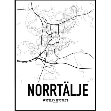 Norrtälje Karta