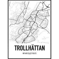 Trollhättan Karta
