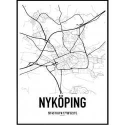 Nyköping Karta