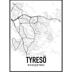 Tyresö Karta