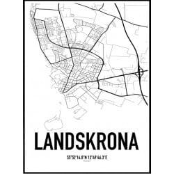 Landskrona Karta