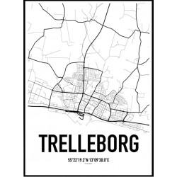 Trelleborg Karta
