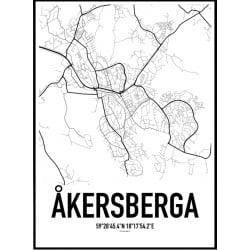 Åkersberga Karta