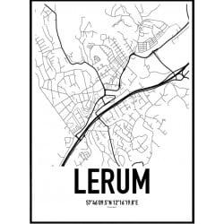 Lerum Karta Poster