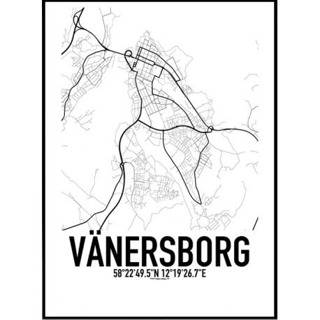 Vänersborg Karta