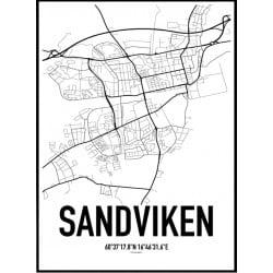 Sandviken Karta