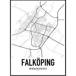 Falköping Karta