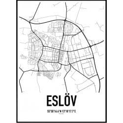 Eslöv Karta