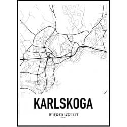 Karlskoga Karta