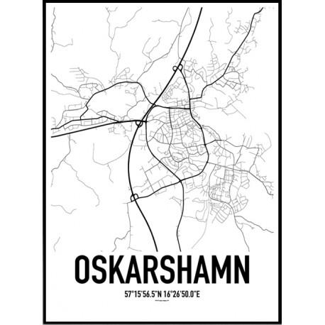 Oskarshamn Karta