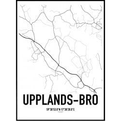Upplands-Bro Karta