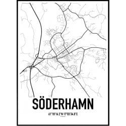 Söderhamn Karta