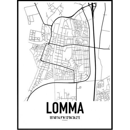 Lomma Karta Poster