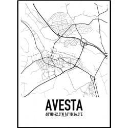Avesta Karta