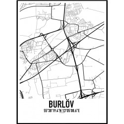 Burlöv Karta