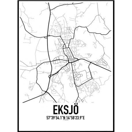Eksjö Karta