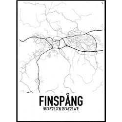 Finspång Karta