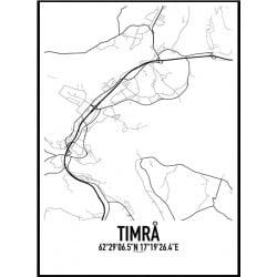 Timrå Karta