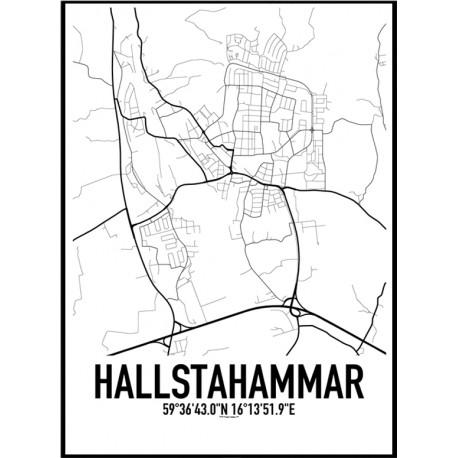 Hallstahammar Karta