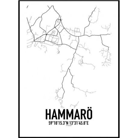 Hammarö Karta