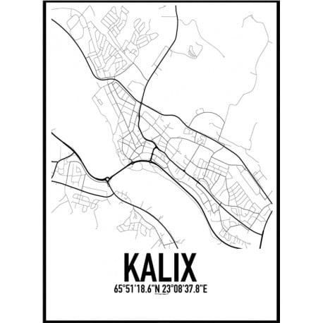Kalix Karta Poster