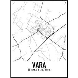 Vara Karta Poster