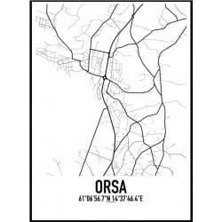 Orsa Karta Poster