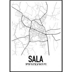 Sala Karta Poster