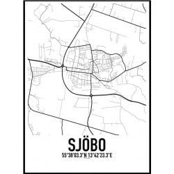 Sjöbo Skåne Karta