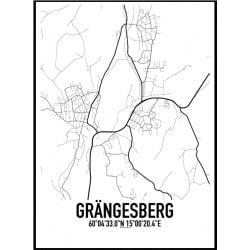 Grängesberg Karta