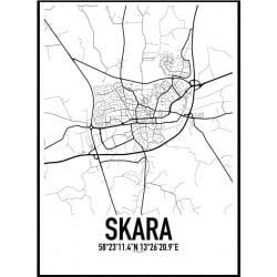 Skara Karta Poster