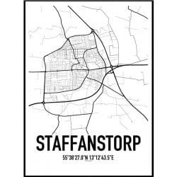 Staffanstorp Karta Poster