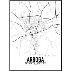 Arboga Karta Poster