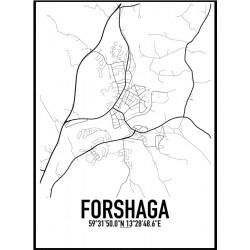 Forshaga Karta Poster